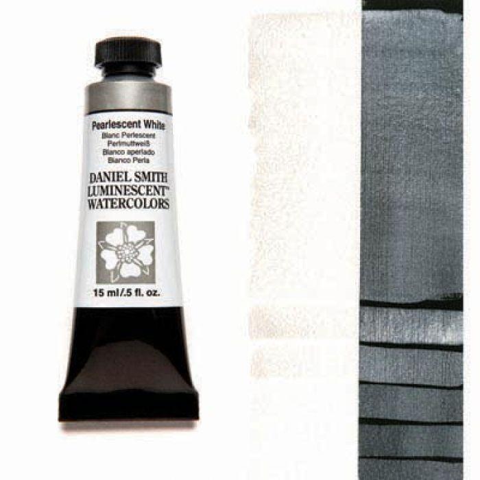 Акварельные краски DANIEL SMITH - Pearlescent White (Luminescent) в тубе 15 мл., s 1 - 025