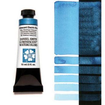 Акварельные краски DANIEL SMITH - Iridescent Electric Blue (Luminescent) в тубе 15 мл., s 1 - 027