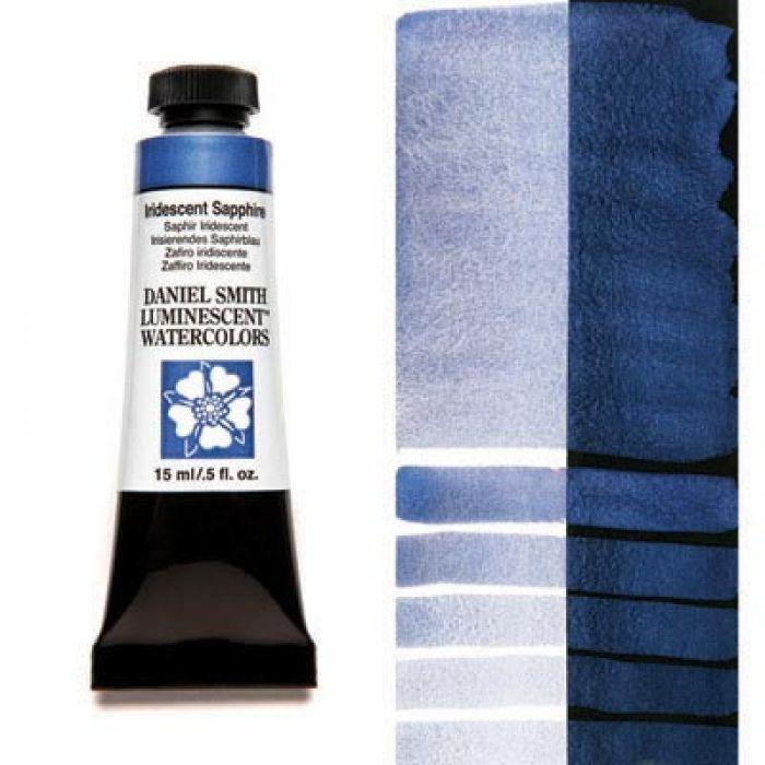 Акварельные краски DANIEL SMITH - Iridescent Sapphire (Luminescent) в тубе 15 мл., s 1 - 033