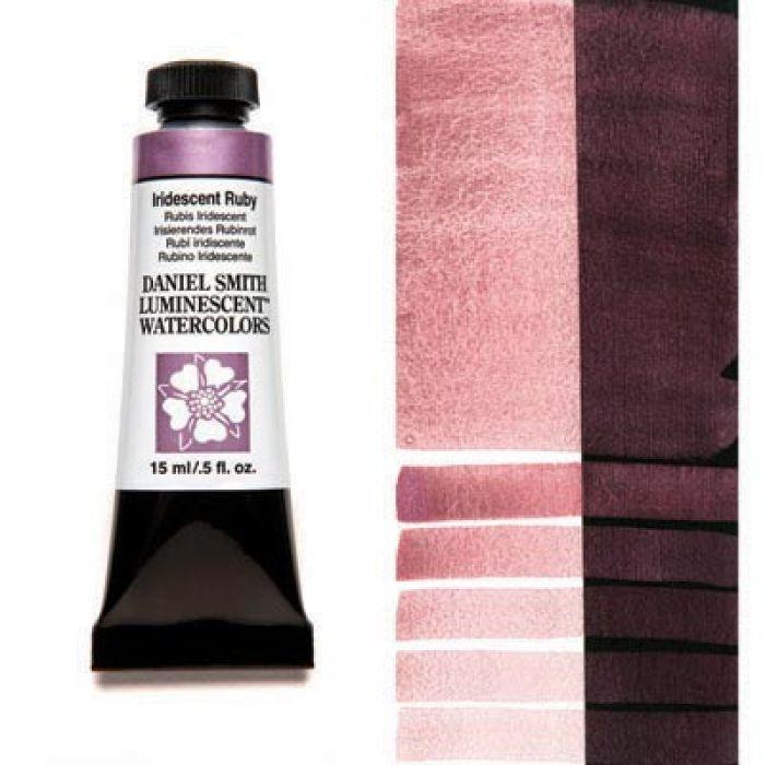 Акварельные краски DANIEL SMITH - Iridescent Ruby (Luminescent) в тубе 15 мл., s 1 - 032