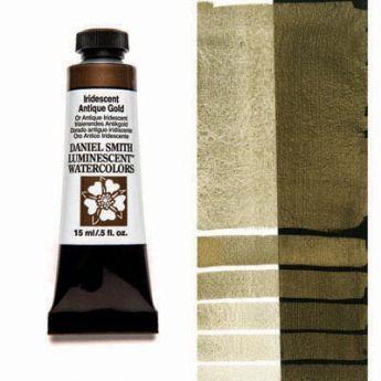Акварельные краски DANIEL SMITH - Iridescent Antique Gold (Luminescent) в тубе 15 мл., s 1 - 010