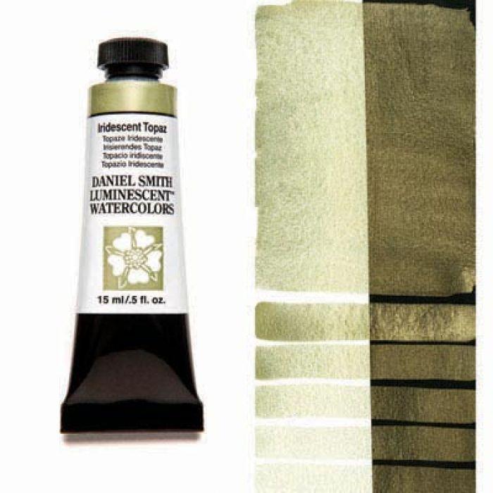 Акварельные краски DANIEL SMITH - Iridescent Topaz (Luminescent) в тубе 15 мл., s 1 - 023