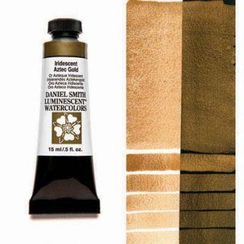 Акварельные краски DANIEL SMITH - Iridescent Aztec Gold (Luminescent) в тубе 15 мл., s 1 - 012