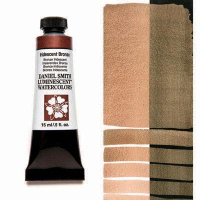 Акварельные краски DANIEL SMITH - Iridescent Bronze (Luminescent) в тубе 15 мл., s 1 - 015