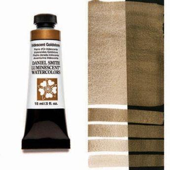 Акварельные краски DANIEL SMITH - Iridescent Goldstone (Luminescent) в тубе 15 мл., s 1 - 018