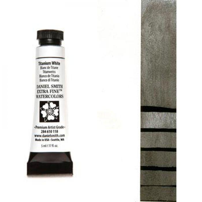 Акварельные краски DANIEL SMITH - Titanium White (Extra Fine) в тубе 5 мл., s 1 - 118