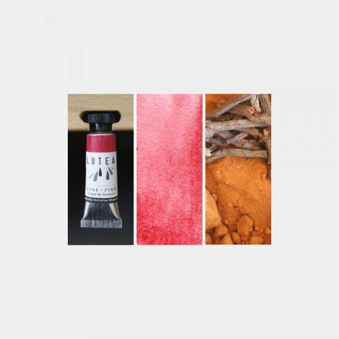 Акварель органическая LUTEA -  Pink (Madder). Туба 9 мл