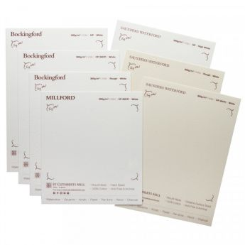 Профессиональная акварельная бумага St Cuthberts. Пакет образцов, на 1 заказ