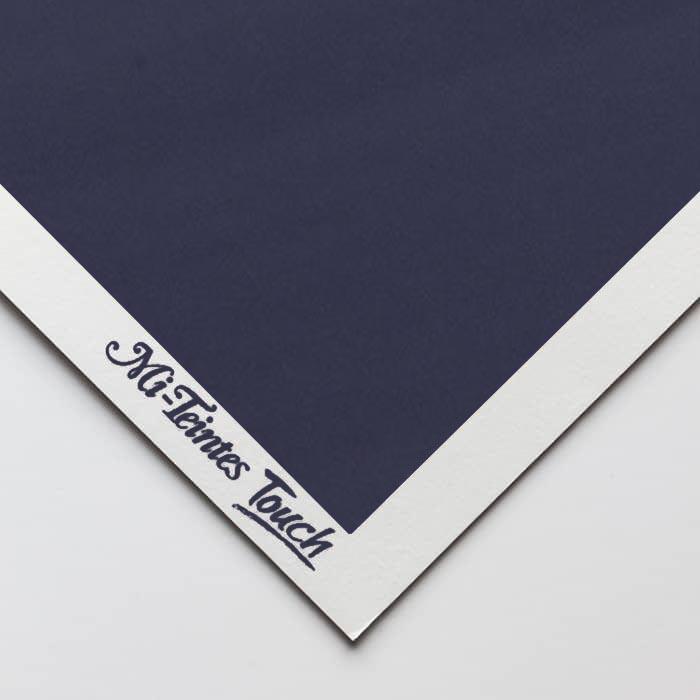 Бумага для пастели Canson Mi-Teintes Touch - лист 50 х 65см, 350 г/м - цвет 140 - Indigo Blue