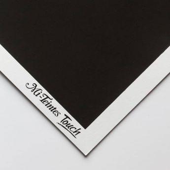 Бумага для пастели Canson Mi-Teintes Touch - лист 50 х 65см, 350 г/м - цвет 425 - Black