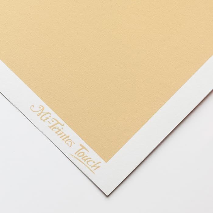 Бумага для пастели Canson Mi-Teintes Touch - лист 50 х 65см, 350 г/м - цвет 407 - Cream