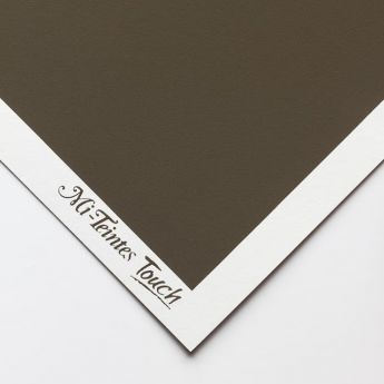 Бумага для пастели Canson Mi-Teintes Touch - лист 50 х 65см, 350 г/м - цвет 345 - Dark Gray