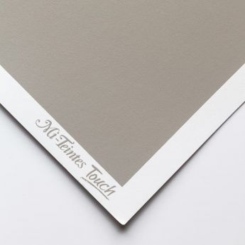 Бумага для пастели Canson Mi-Teintes Touch - лист 50 х 65см, 350 г/м - цвет 122 - Flannel Gray