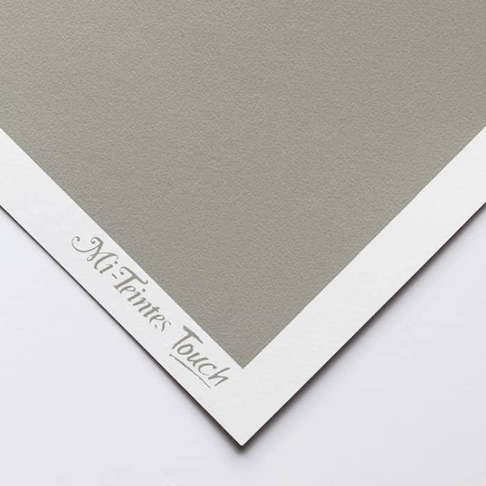 Бумага для пастели Canson Mi-Teintes Touch - лист 50 х 65см, 350 г/м - цвет 431 - Steel Gray