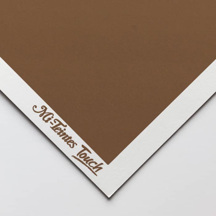 Бумага для пастели Canson Mi-Teintes Touch - лист 50 х 65см, 350 г/м - цвет 501 - Tobacco