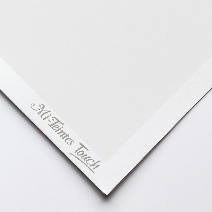 Бумага для пастели Canson Mi-Teintes Touch - лист 50 х 65см, 350 г/м - цвет 335 - White