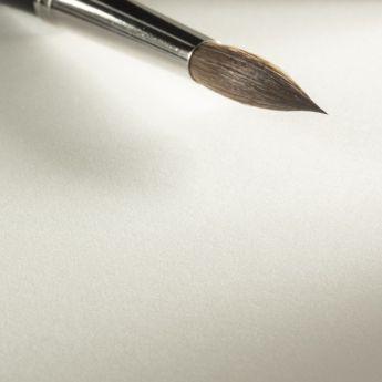 Бумага для акварели Hahnemuhle Leonardo 100% хлопок Hot Press (гладкая) 600 г. 56x76 см