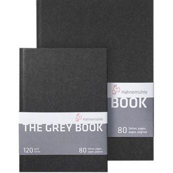 Скетчбук Hahnemuhle Grey со светло-серой бумагой. Размер A5 (15х21), 120 гр., 40 л. - 80 стр.