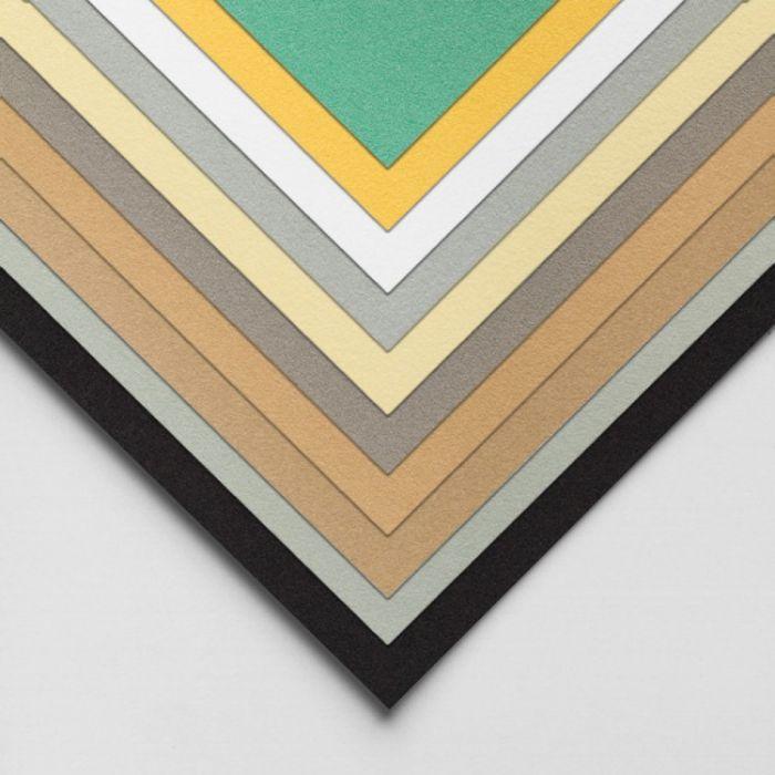 Бумага для пастели Hahnemuhle Velour, цвет Light Grey, 260 г/м, 50x70 см. 1 упаковка - 10 листов