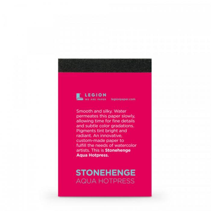 Профессиональная акварельная бумага Legion : Stonehenge. Ботаническая, фактура гладкая, Hot Pressed. Образец 5 мини листов, на 1 заказ.