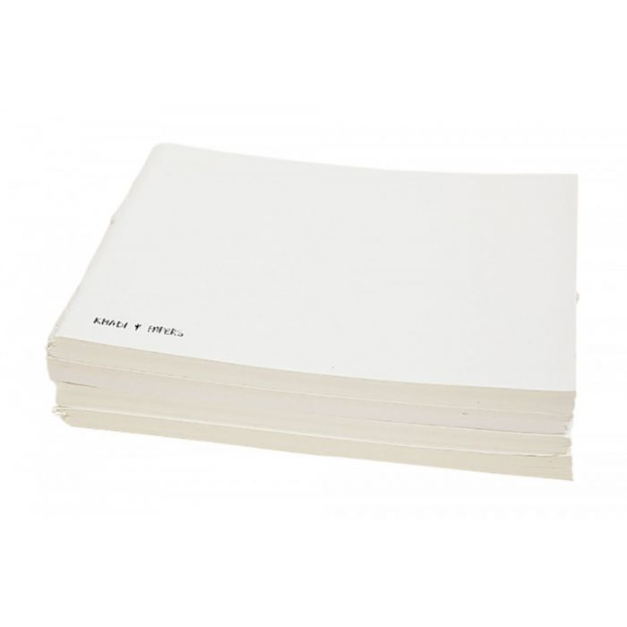 Скетчбук ручной работы KHADI в мягкой обложке. 100% хлопок SMOOTH - HOT PRESS 210 гр. Размер 21х25 см. 40 страниц.