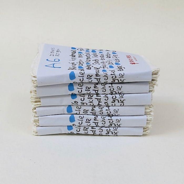 Набор акварельной бумаги KHADI. 100% хлопок Фактура ROUGH, 320 гр. Размер 11х15 см. 20 листов