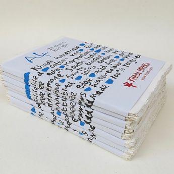 Набор акварельной бумаги KHADI. 100% хлопок Фактура ROUGH, 320 гр. Размер 21х30 см. 20 листов