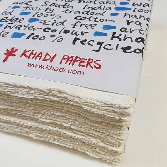 Набор акварельной бумаги KHADI. 100% хлопок Фактура ROUGH, 320 гр. Размер 30х42 см. 20 листов