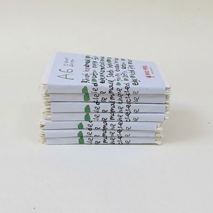 Набор акварельной бумаги KHADI. 100% хлопок Фактура ROUGH, 640 гр. Размер 11х15 см. 10 листов
