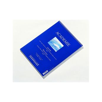 Альбом для акварели Sennelier Académie на спирали, целлюлоза 300 г/м 37x46 cм