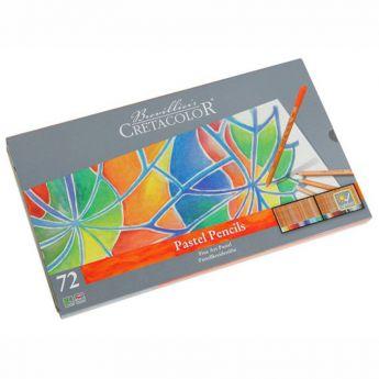 Набор пастельных карандашей Cretacolor Fine Art Pastel в металлическом пенале 72 цвета