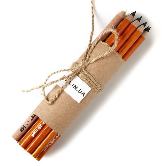 Угольные карандаши General (Дженерал) HB Hard, 2B Medium, 4B Soft, 6B Extra Soft, White - набор 15 шт.