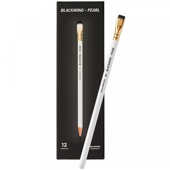 Графитный карандаш Palomino Blackwing Pearl. Твёрдость 3B. Набор 12 шт
