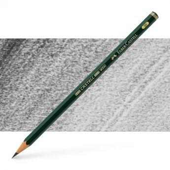 Графитный карандаш Faber Castell 9000, твердость 3B