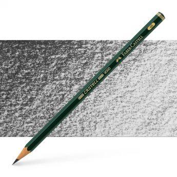 Графитный карандаш Faber Castell 9000, твердость 4B