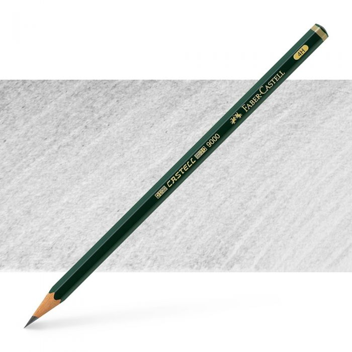 Графитный карандаш Faber Castell 9000, твердость 4H