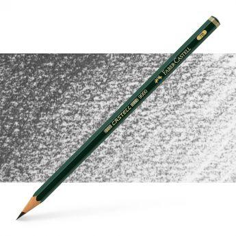 Графитный карандаш Faber Castell 9000, твердость 7B