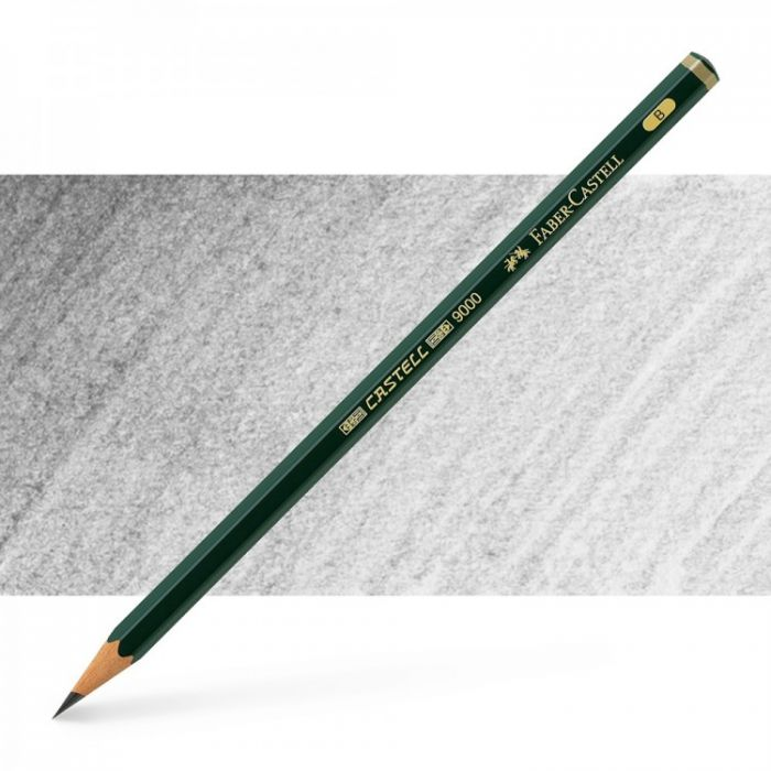 Графитный карандаш Faber Castell 9000, твердость B