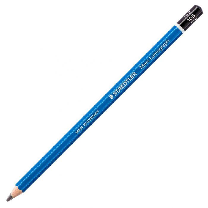 Графитный карандаш Staedtler Mars Lumograph, твердость 10B
