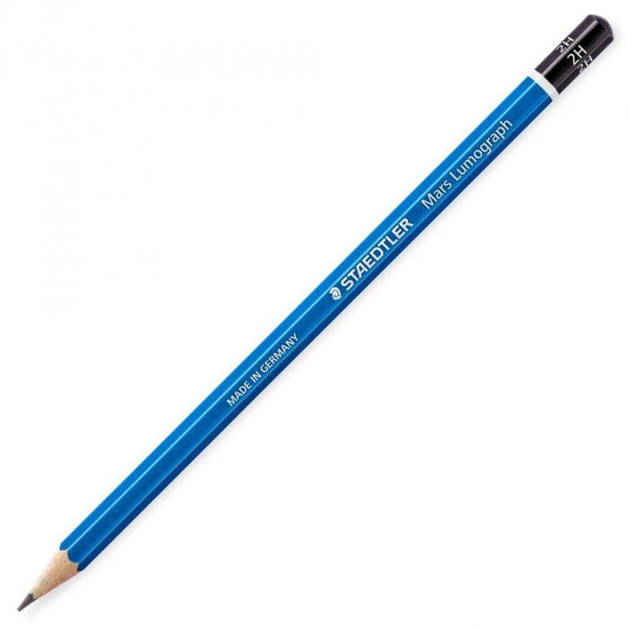 Графитный карандаш Staedtler Mars Lumograph, твердость 2H