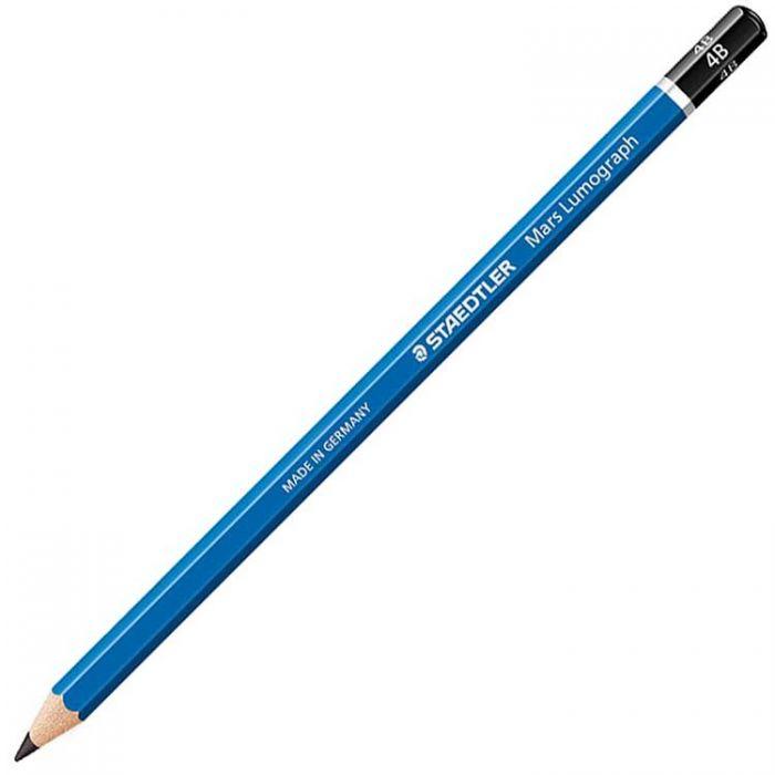 Графитный карандаш Staedtler Mars Lumograph, твердость 4B