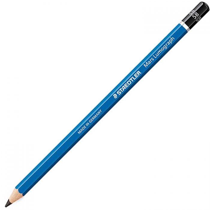 Графитный карандаш Staedtler Mars Lumograph, твердость 5B