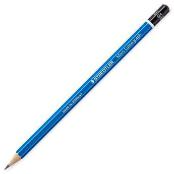 Графитный карандаш Staedtler Mars Lumograph, твердость 6H