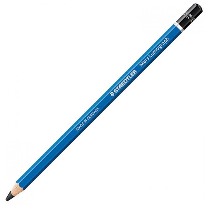 Графитный карандаш Staedtler Mars Lumograph, твердость 7B