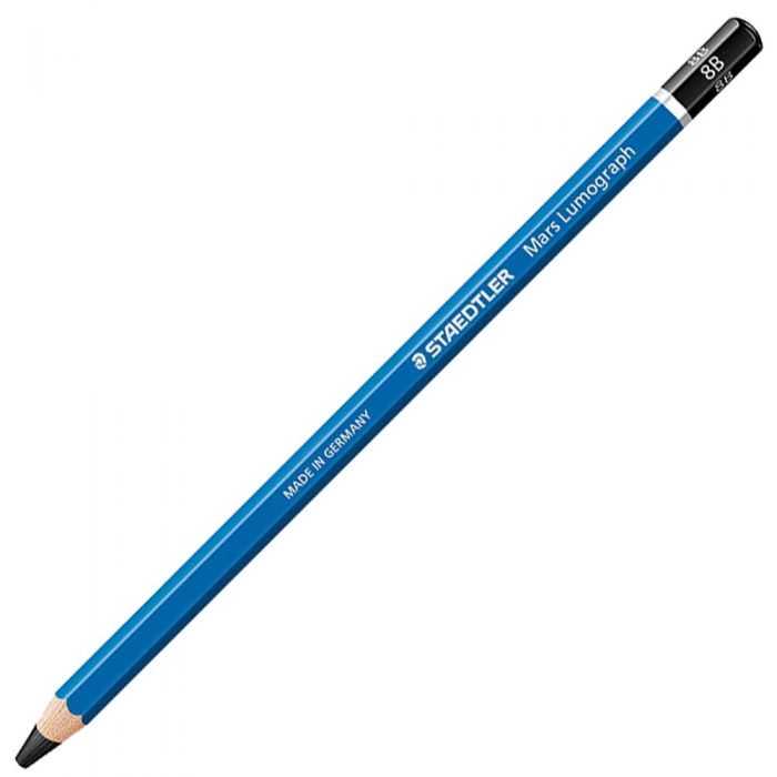 Графитный карандаш Staedtler Mars Lumograph, твердость 8B