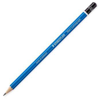 Графитный карандаш Staedtler Mars Lumograph, твердость 8H