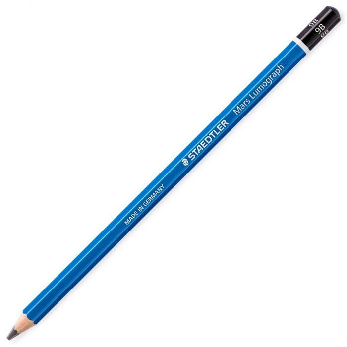 Графитный карандаш Staedtler Mars Lumograph, твердость 9B