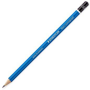 Графитный карандаш Staedtler Mars Lumograph, твердость 9H