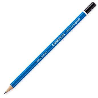 Графитный карандаш Staedtler Mars Lumograph, твердость F