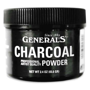 Угольный порошок General's в банке - 65,6 гр
